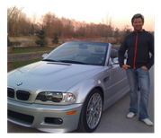 Phil with BMW